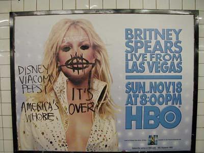 Defacing Britney
